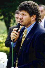 Cav. Sassi, presidente della Croce Verde Villa